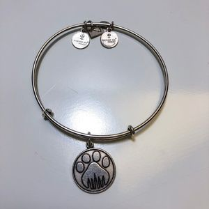 Alex and Ani Dog Paw Bracelet